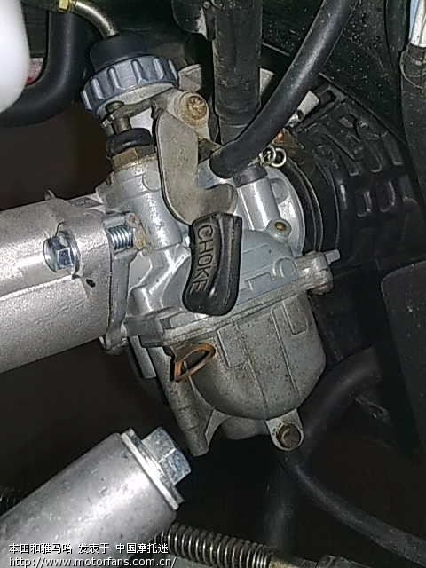 换了个化油器 雅马哈 摩托车论坛 中国第一摩托车论坛 摩旅进行到底 -图片